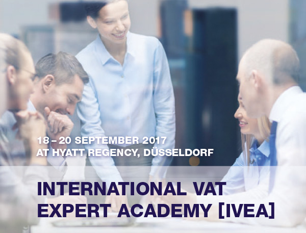 International VAT Expert Academy 2017